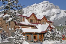 Ptarmigan Inn, ext, Banff & Lake Louise