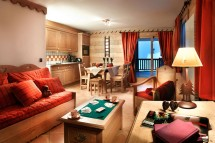 Residence Les Cimes Blanches lounge, La Rosiere