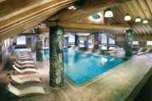 Residence Les Cimes Blanches pool, La Rosiere