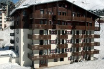 Residence Val Claret ext side, Tignes