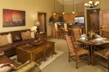The Silverado Living Area