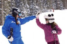 Ski School in Beaver Creek, USA