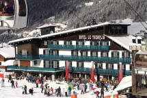 Exterior of Hotel Tremplin - ski chalet in Morzine, France