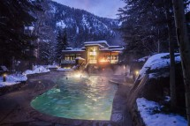 Lower Pool of The Gant - Luxury Hotel and Condo in Aspen, North America