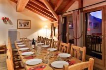 Dining Area, Chalet Tomasz, La Rosiere, France