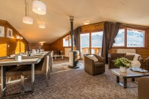 Chalet Milo, Lounge/dining area, Val Thorens, France