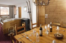 Dining Area in Chalet Taureau, Val Thorens, France