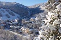 View of the town, Beaver Creek, USA; Jack Affleck